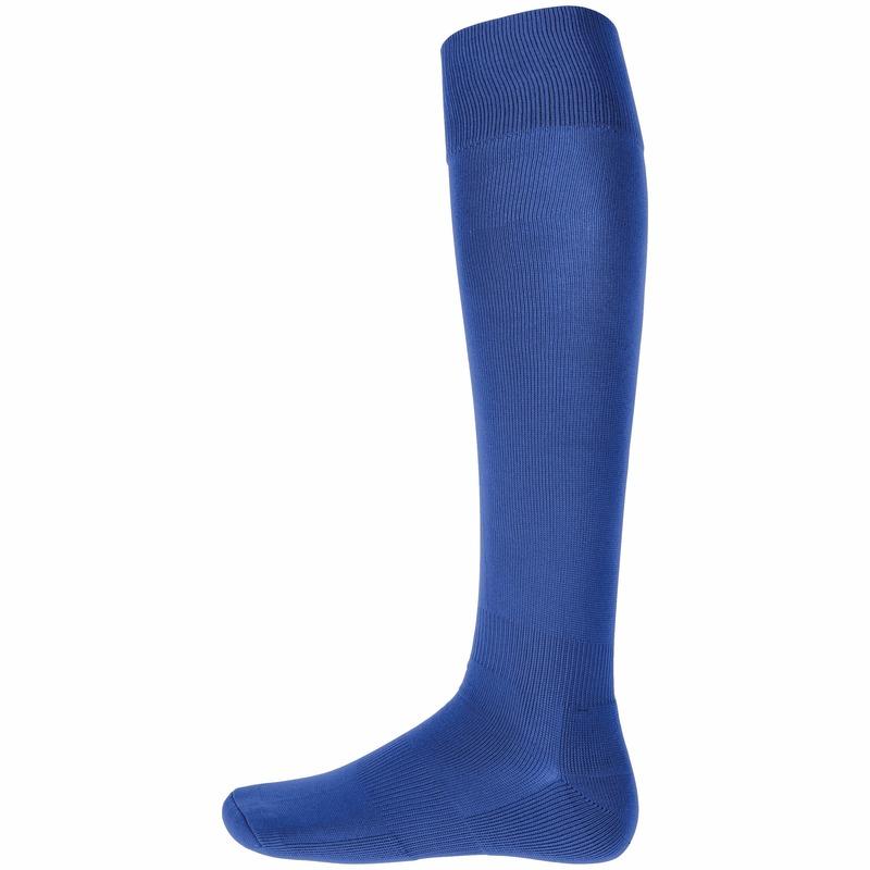 Blauwe hoge sportsokken voor volwassenen